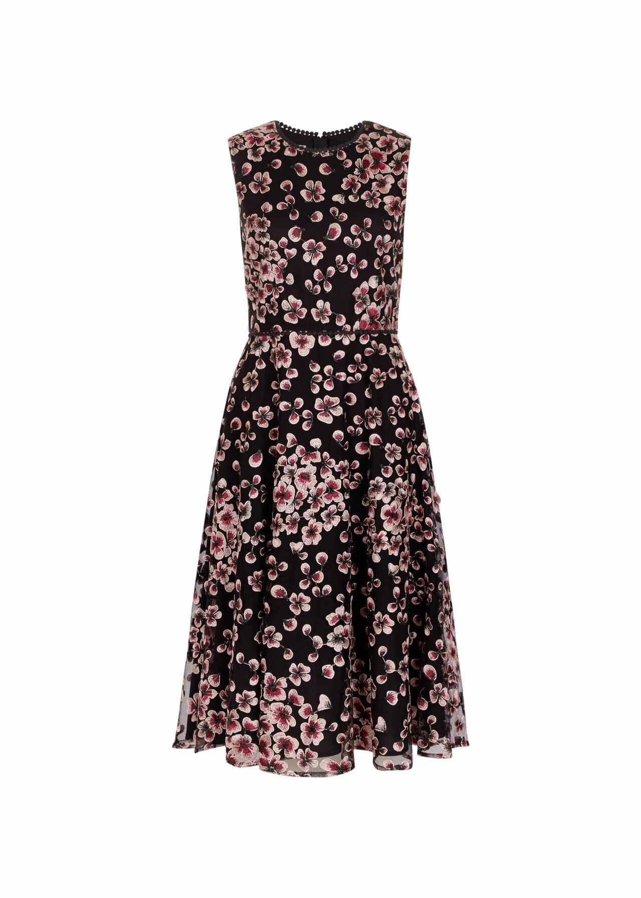 Lilith Dress Pink Black