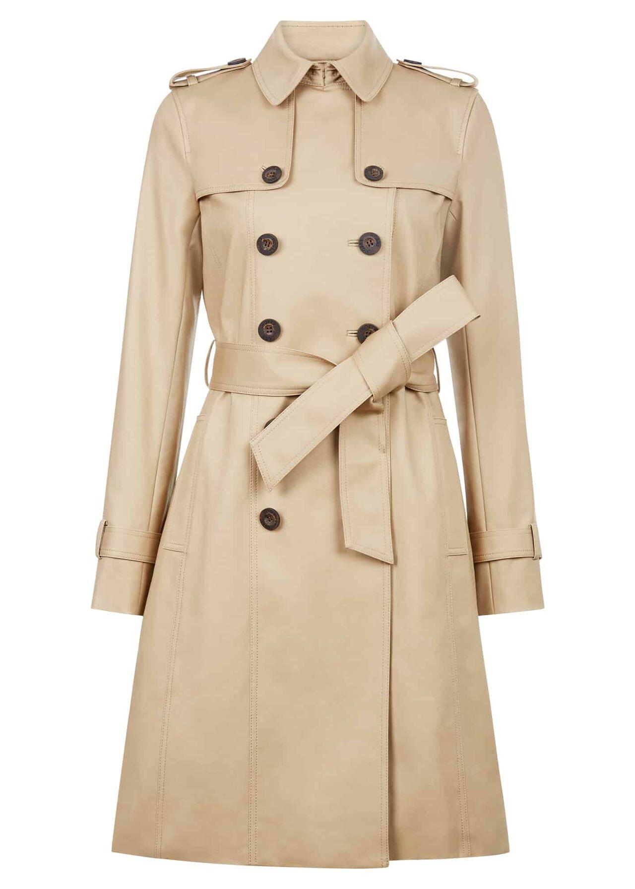 Saskia Trench Coat Mocha