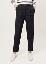 Aleena Trousers, Navy Multi, hi-res