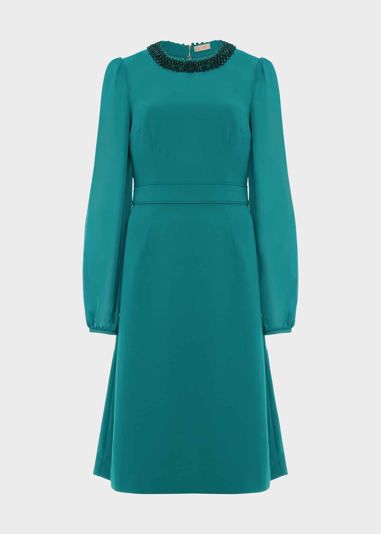Jada Beaded Dress Jade