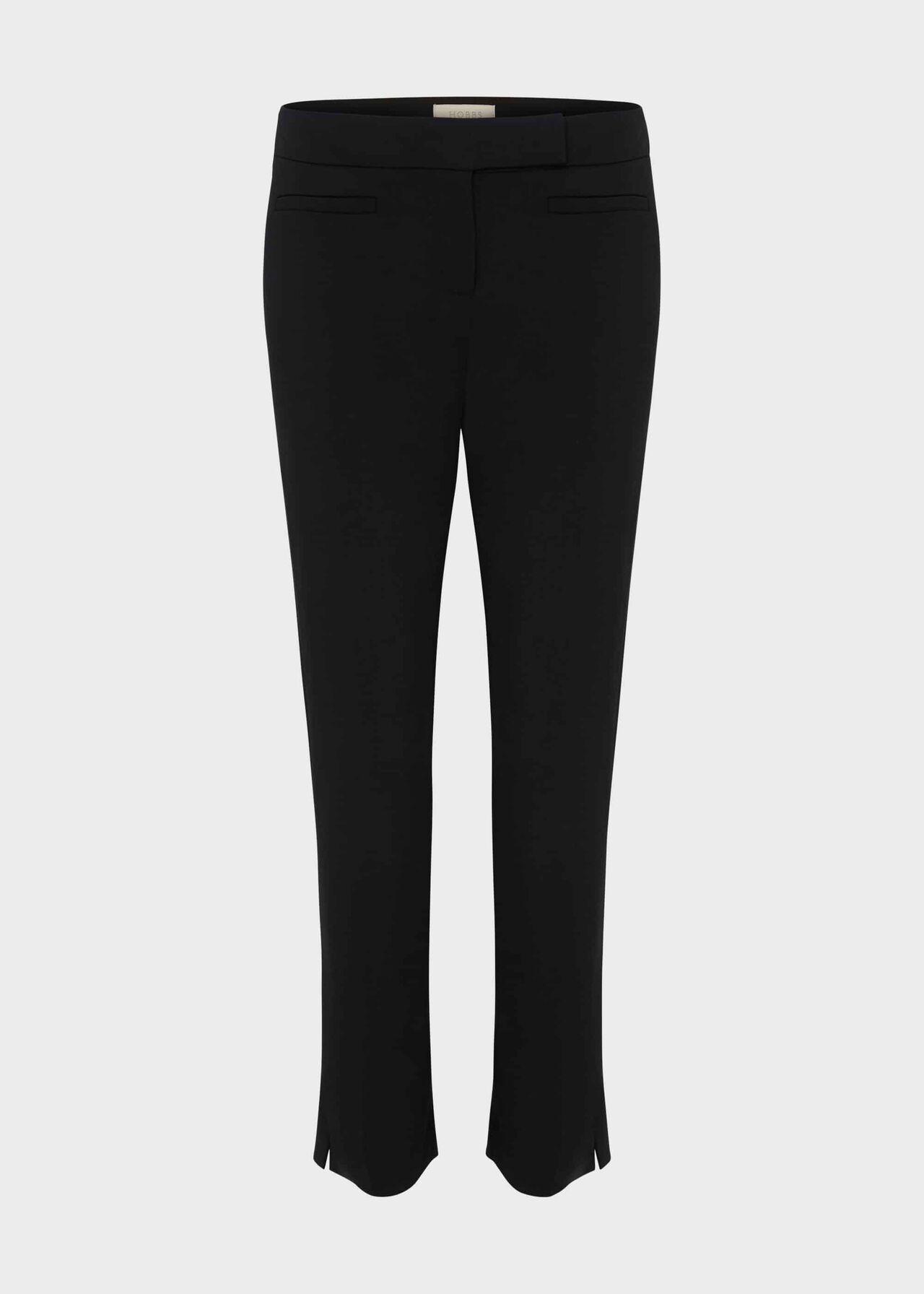 Annie Slim Trouser With Stretch Black