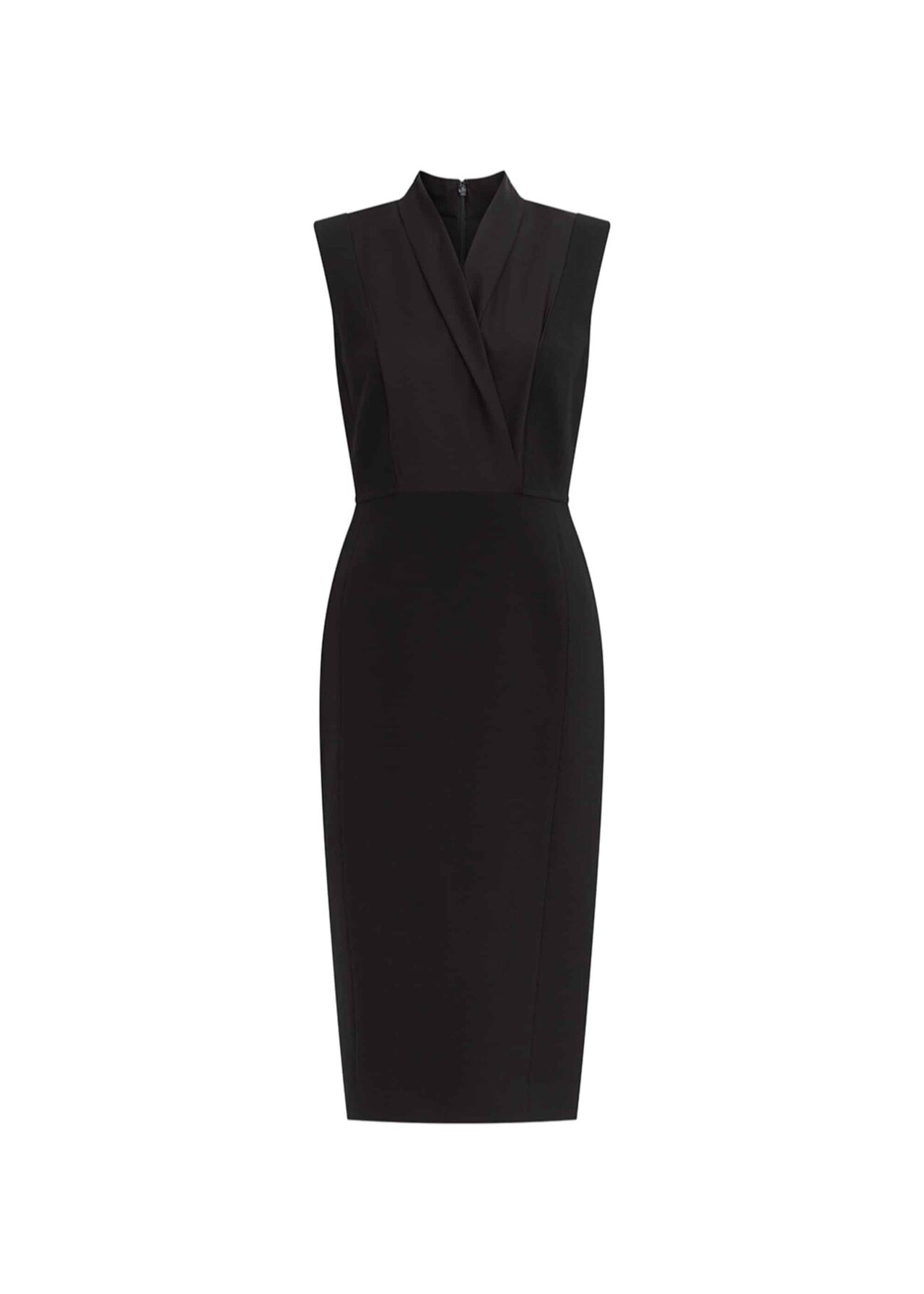 Katherine Wool Dress Black