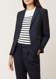 Aleena Jacket, Navy Multi, hi-res