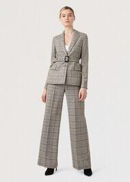 Hailey Wool Pants, Multi, hi-res