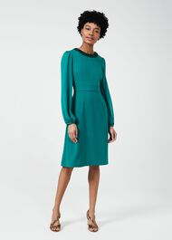 Jada Beaded Dress, Jade, hi-res