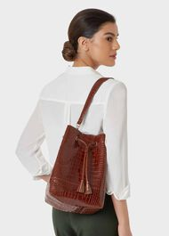 Hampstead Bucket Bag, Cognac, hi-res
