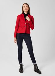 Hackness Wool Jacket, Hobbs Red, hi-res