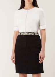 Helena Belt, Black White, hi-res