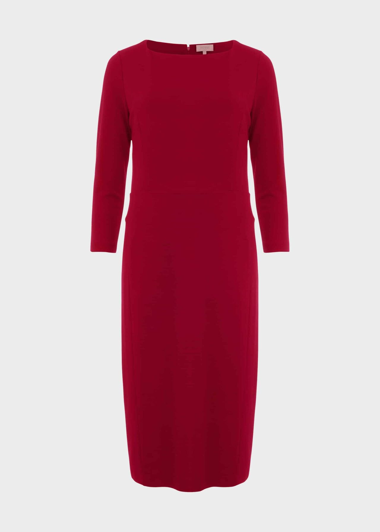 Kelly Jersey Dress Dark Raspberry