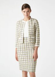 Suri Jacket, Ivory Multi, hi-res