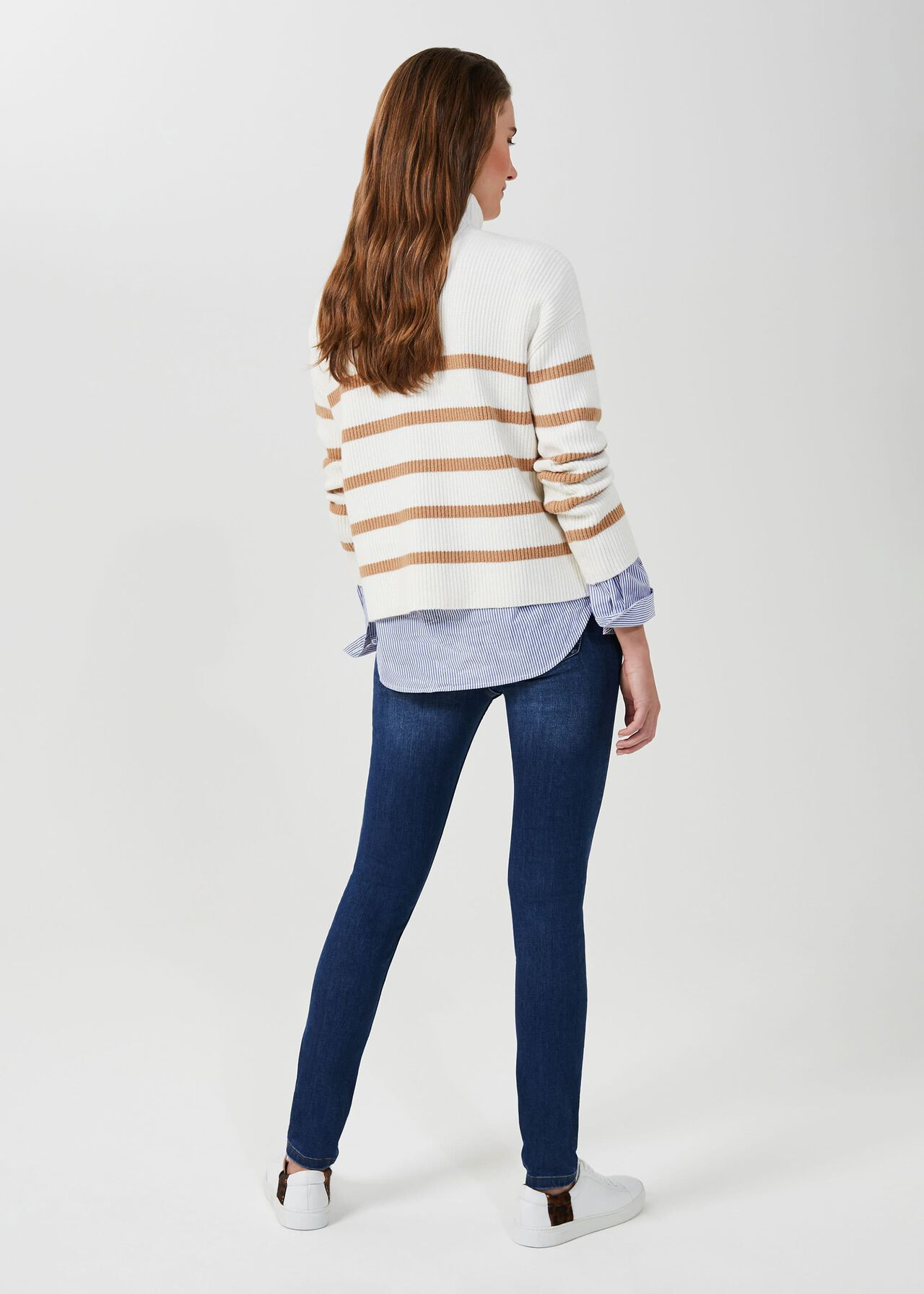 Gia Sculpting Jean With Stretch, Mid Wash, hi-res