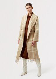 Rosa Wool Coat, Camel Ivory, hi-res