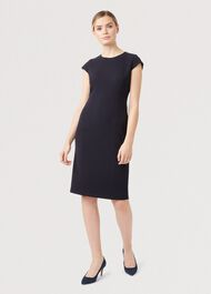 Petite Leila Dress, Navy, hi-res