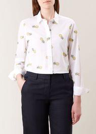 Kristina Shirt, White Multi, hi-res
