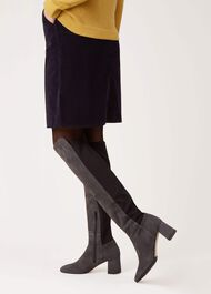 Imogen Knee High, Grey, hi-res