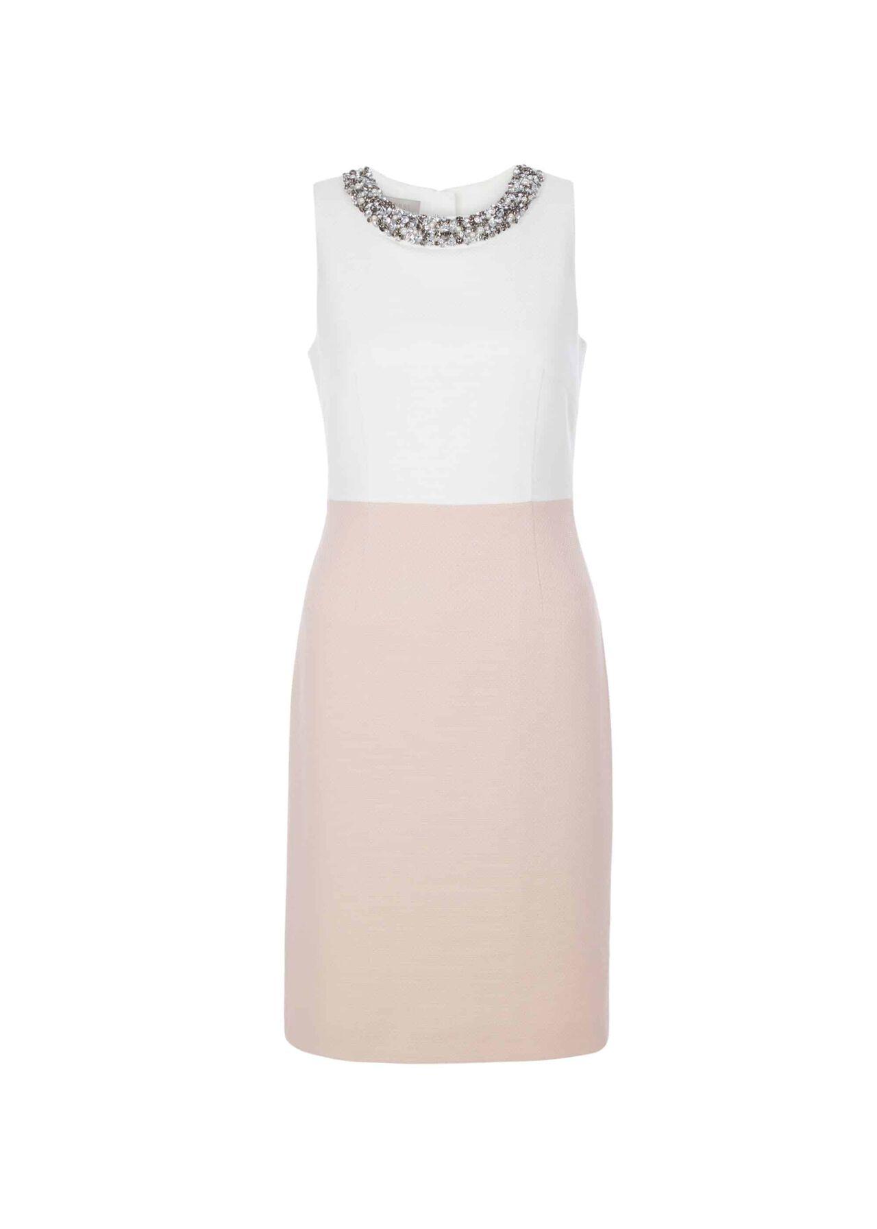 Arizona Dress Pink Ivory