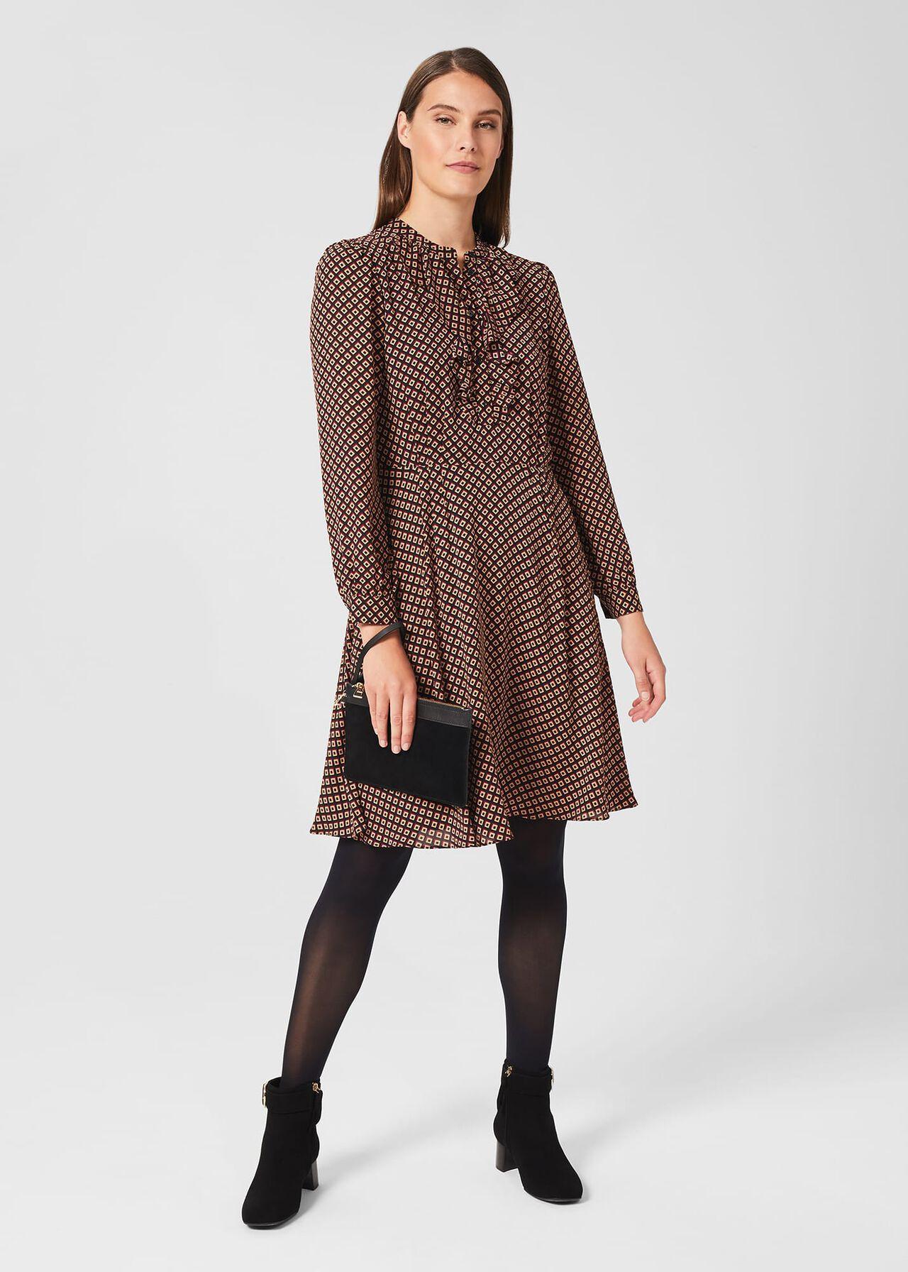 Jade Dress, Black Multi, hi-res