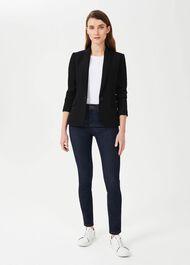 Petite Ophelia Jacket With Stretch, Black, hi-res