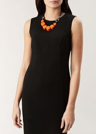 Naomi Necklace, Orange, hi-res