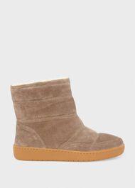 Latika Suede Ankle Boot, Deep Camel, hi-res