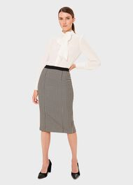Rhiannon Skirt, Ivory Black, hi-res