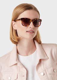 Aubrey Tortoiseshell Sunglasses, Tortoiseshell, hi-res