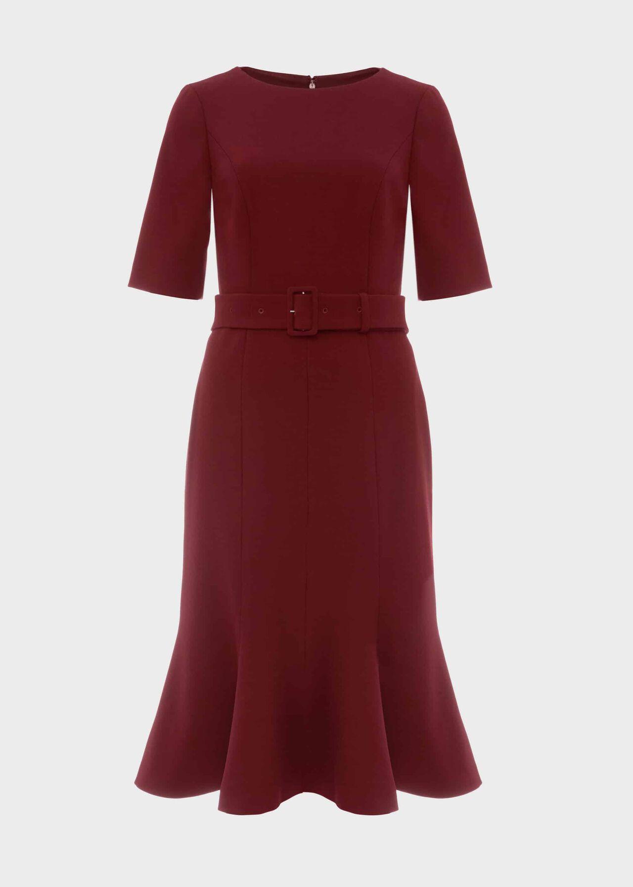 Bria Dress Merlot