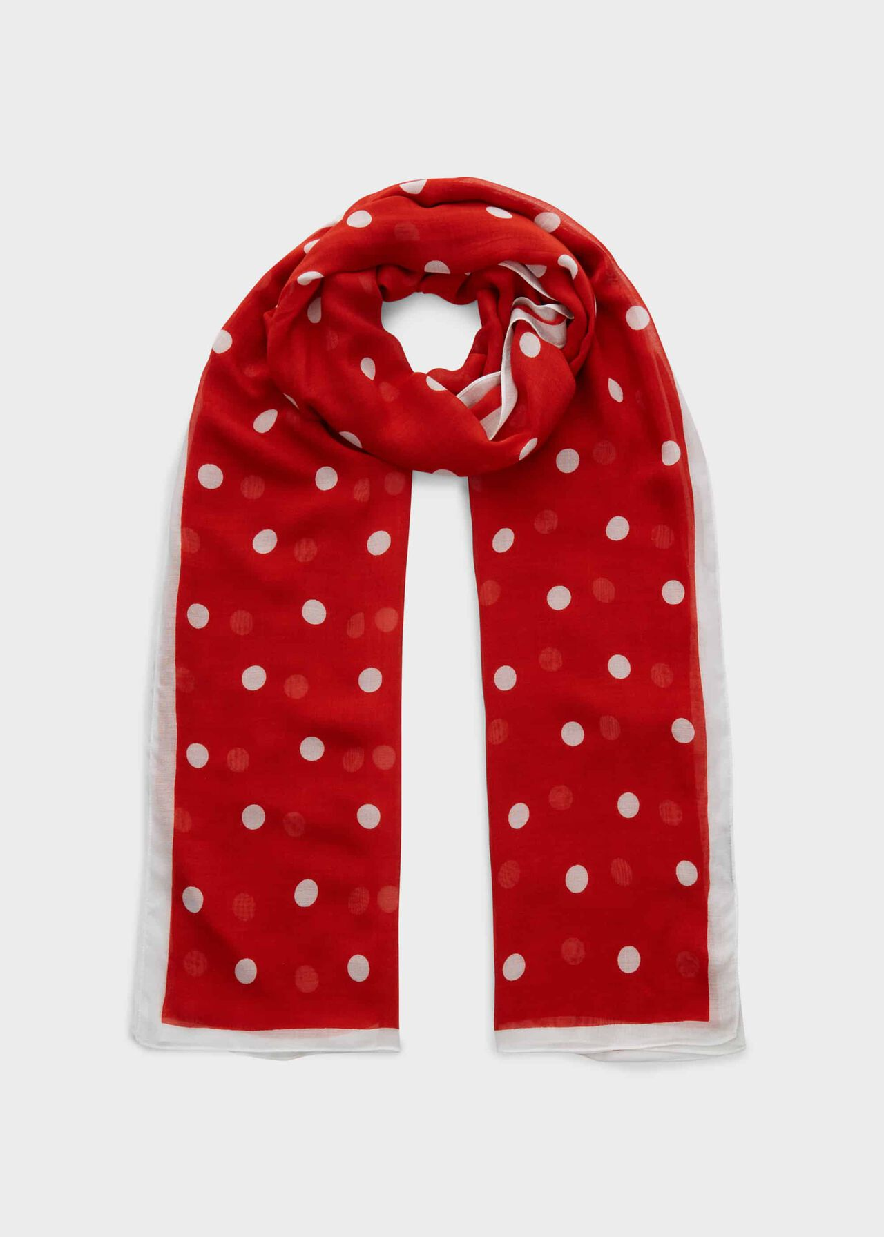 Penny Scarf, Red, hi-res