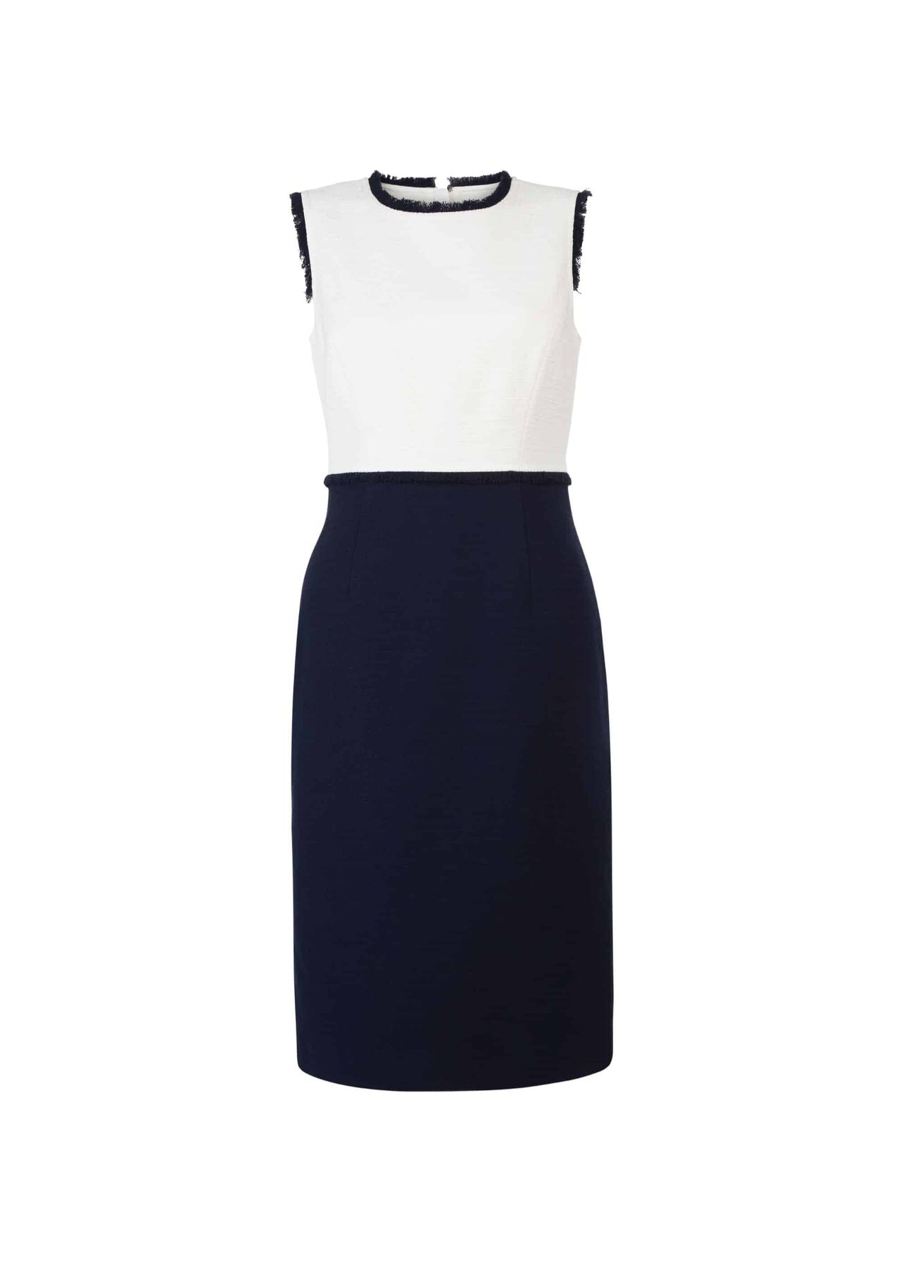 Alice Dress Navy Ivory