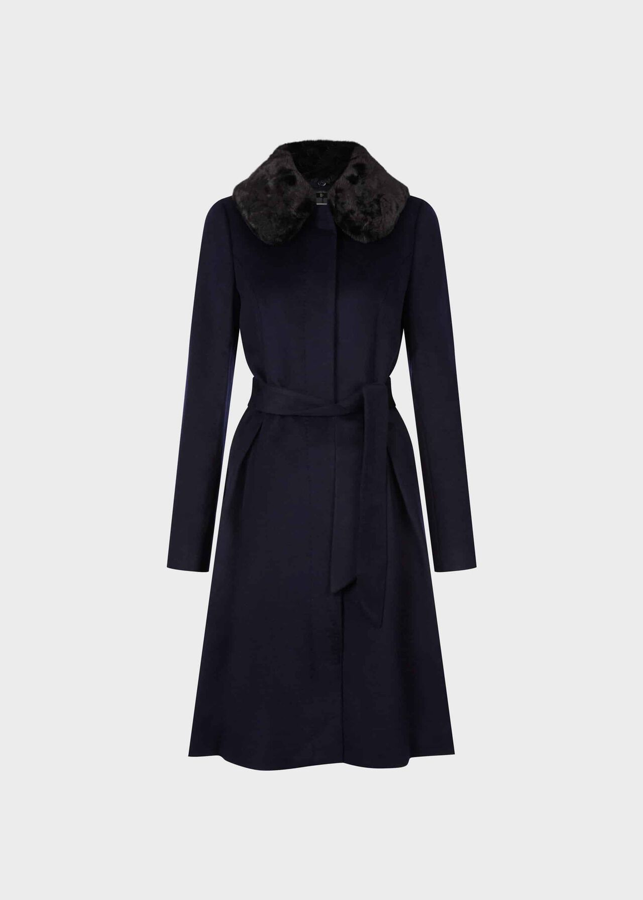 Edeline Wool Coat Navy