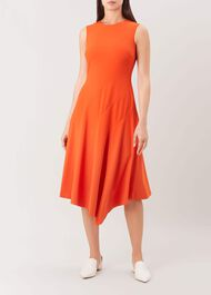 Anya Dress, Burnt Orange, hi-res