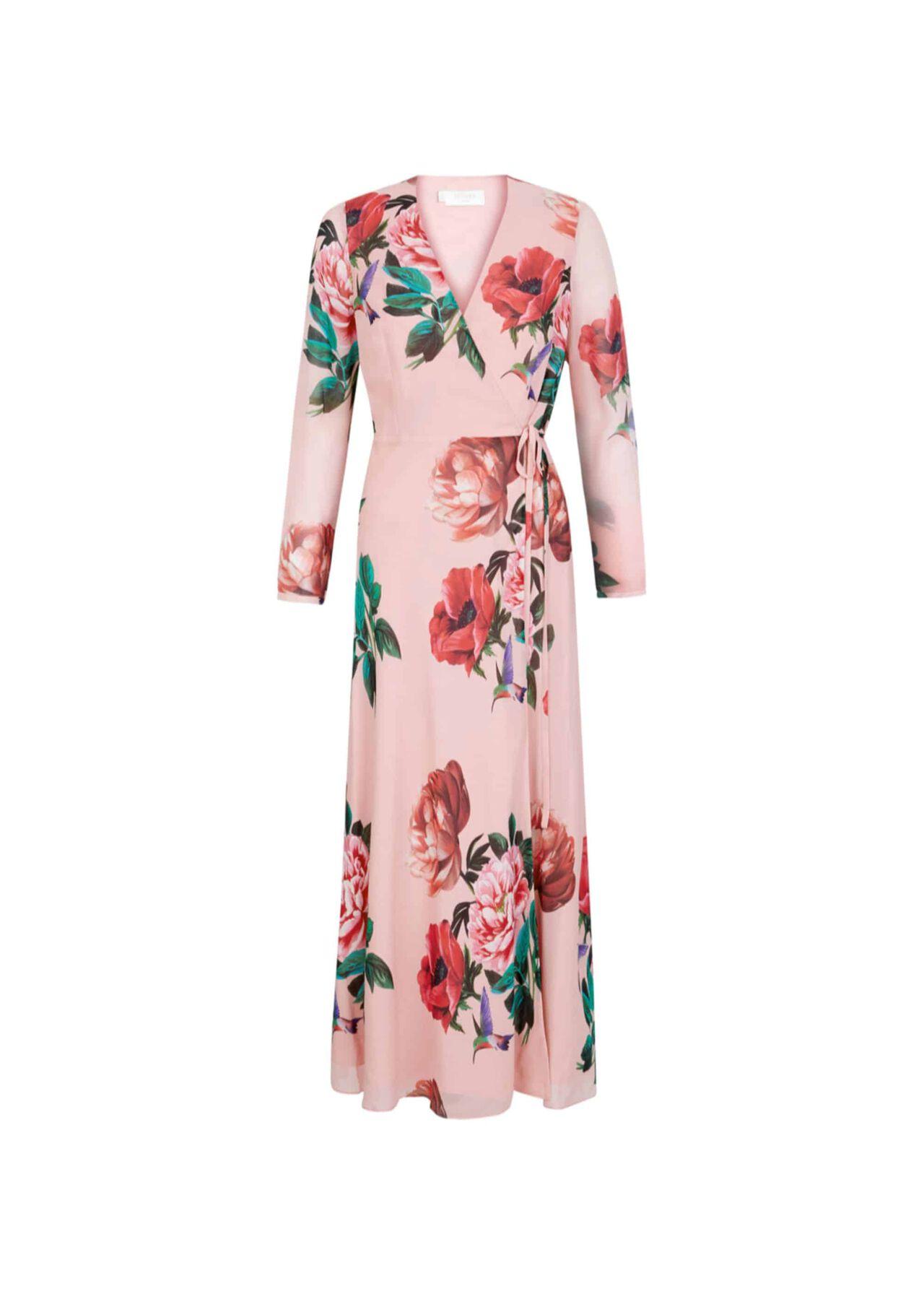 Emery Silk Dress Pink