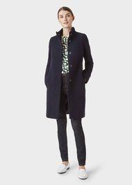 Melinda Coat, Navy Cobalt, hi-res