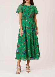 Sarah Dress, Green Multi, hi-res