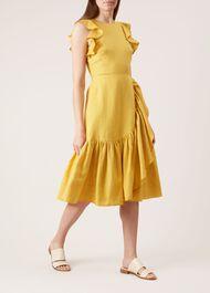 Carmen Dress, Ochre, hi-res