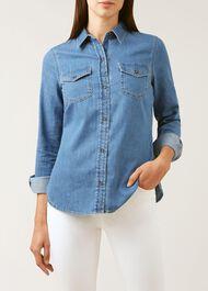 Hesper Shirt, Blue, hi-res