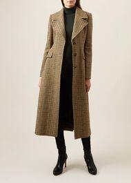 Aideen Wool Coat, Multi, hi-res