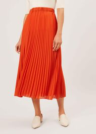 Lilita Skirt, Burnt Orange, hi-res