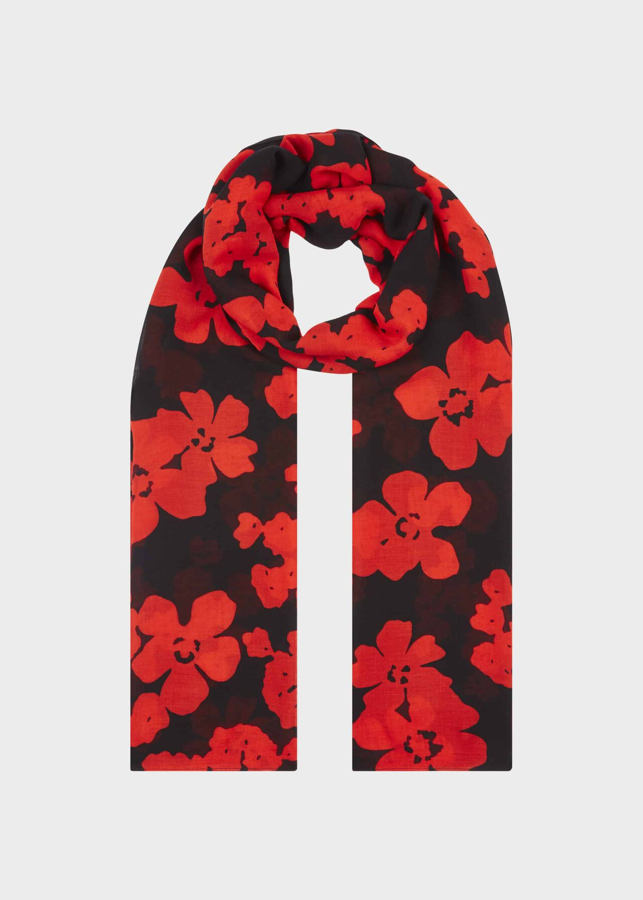 Eleanor Scarf, Navy Red, hi-res