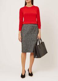 Penny Merino Wool Jumper, Red, hi-res