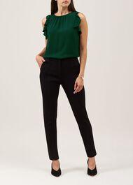 Gabi Trousers, Black, hi-res
