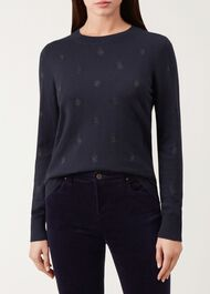 Eleanor Sweater, Navy, hi-res