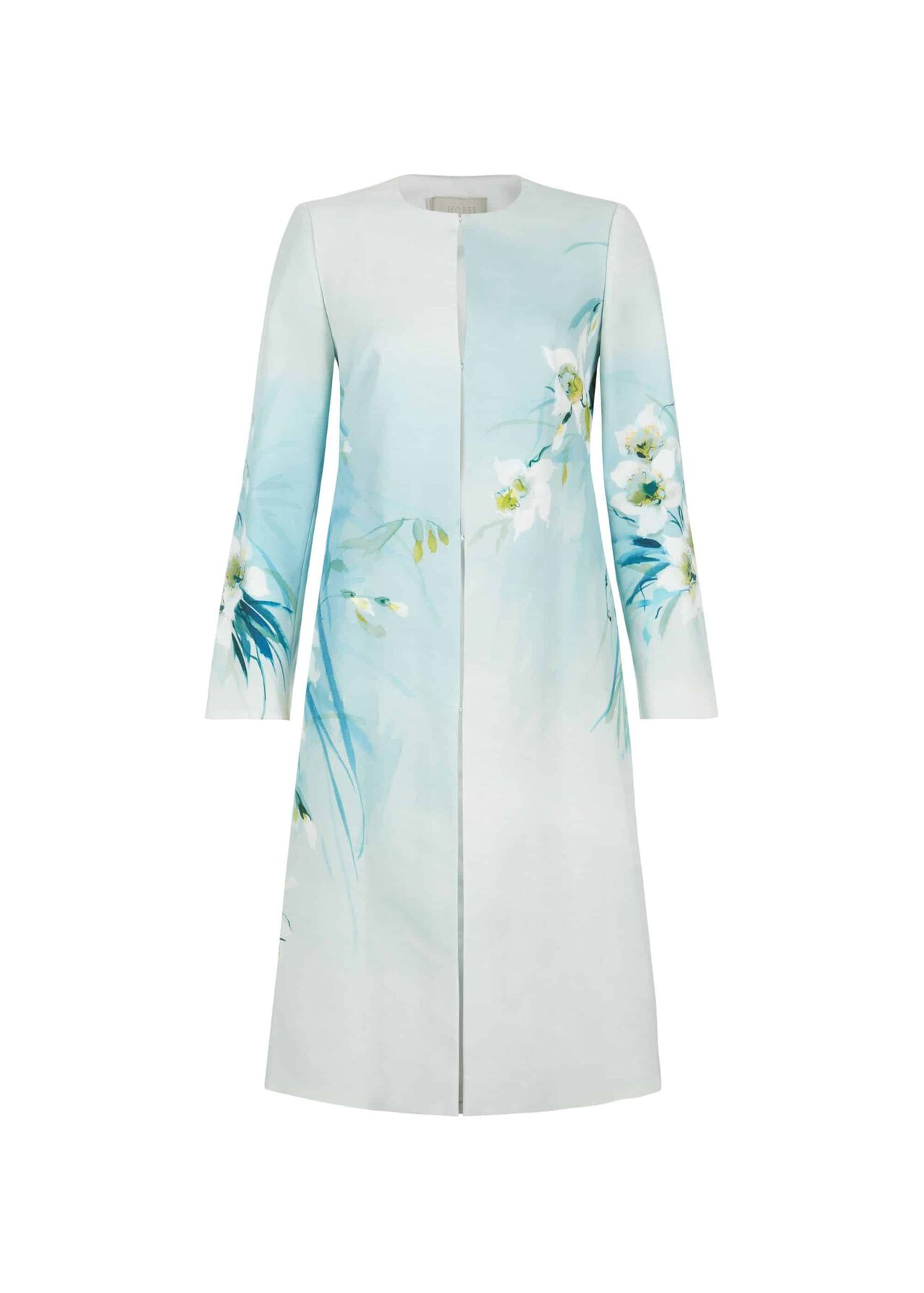 Amelie Coat Blue Multi