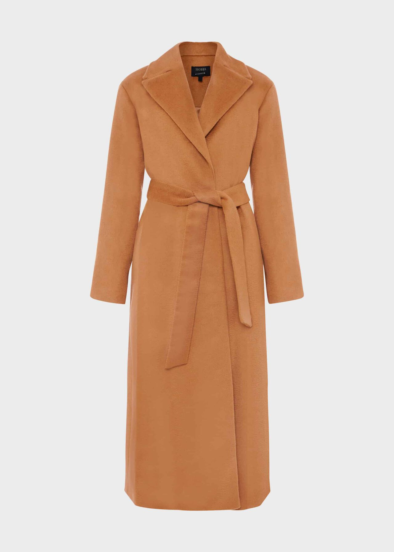 Rene Wrap Coat Vicuna