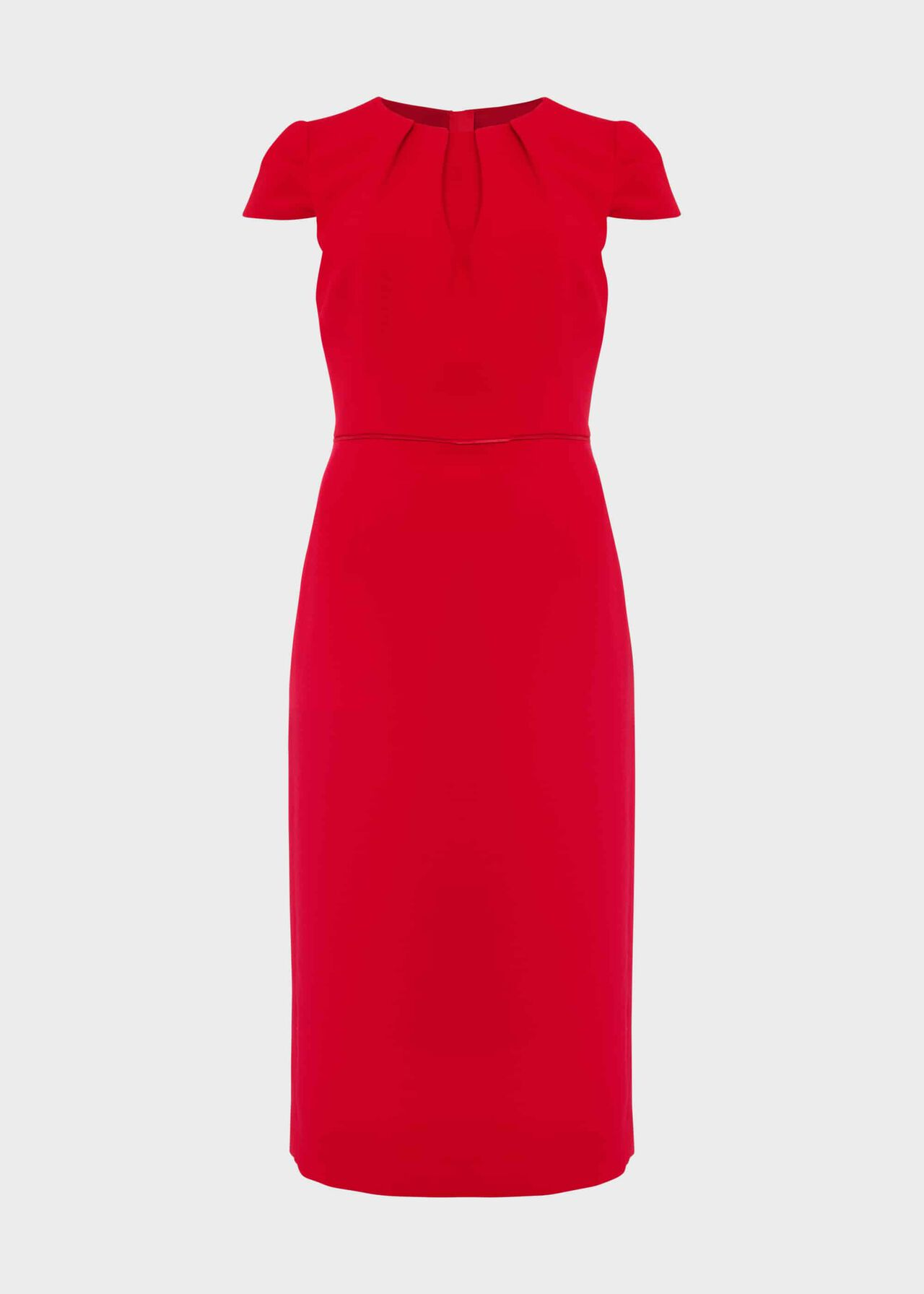 Joan Shift Dress Poppy Red