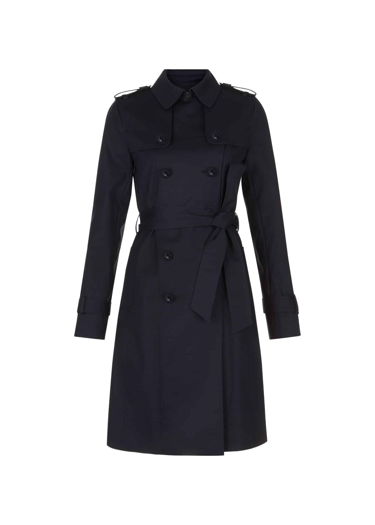Saskia Trench Coat Navy