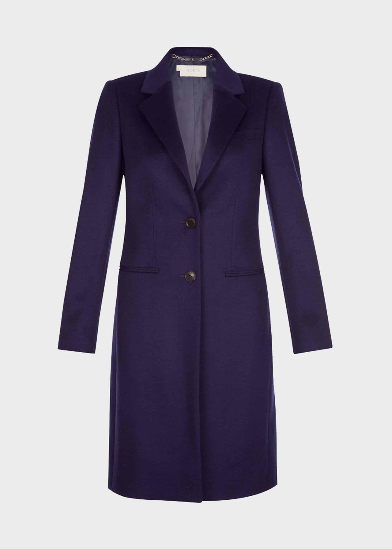 Tilda Wool Coat French Navy