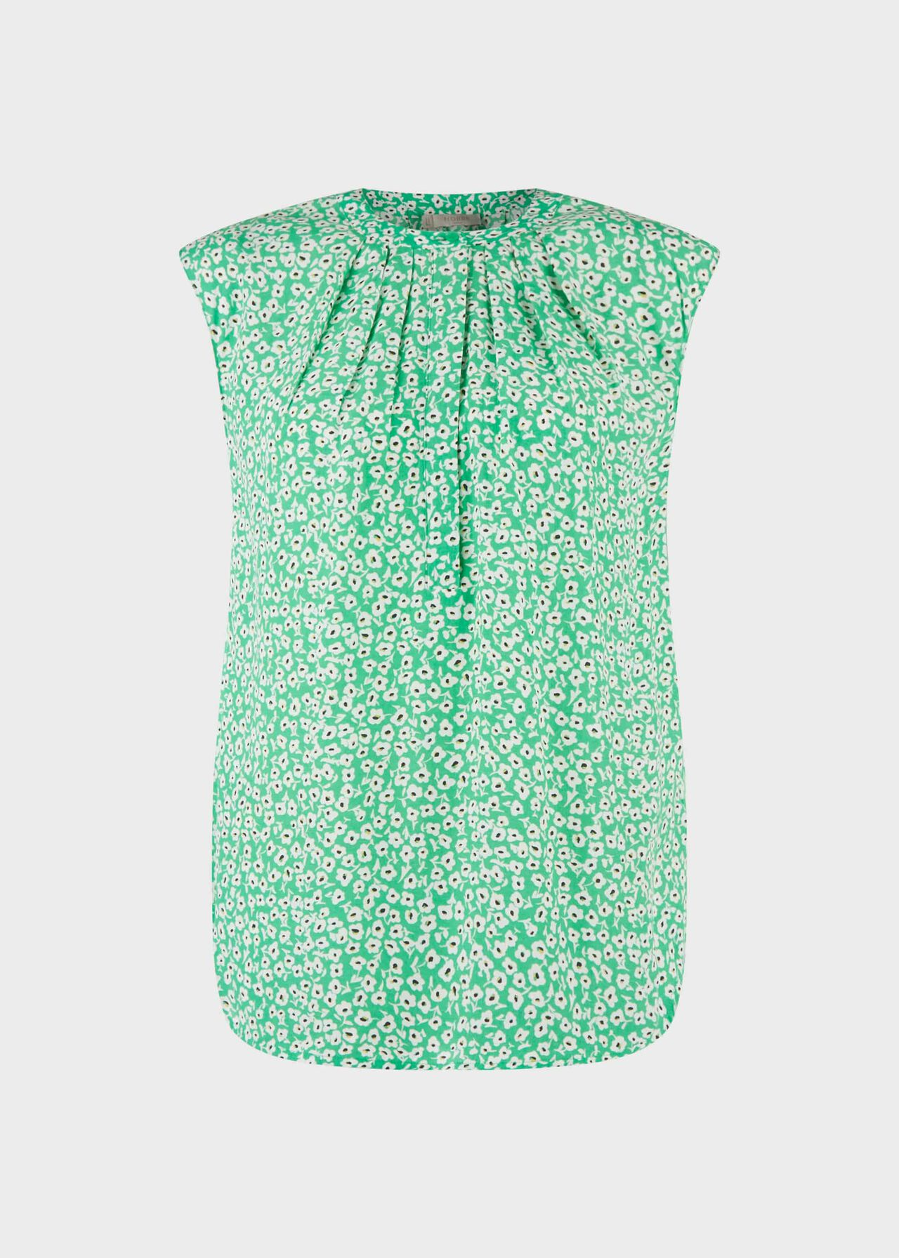 Lillie Floral Blouse Green Multi
