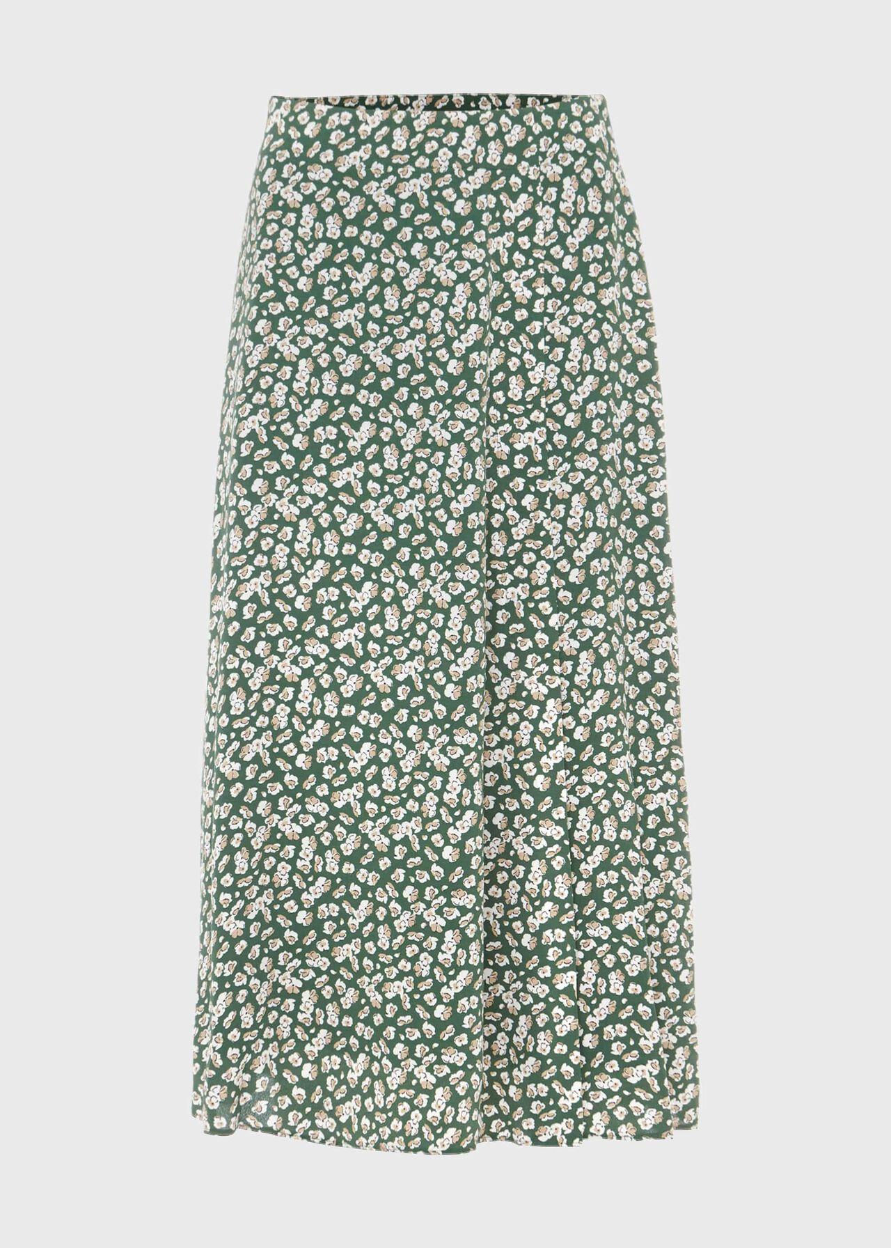 Annette Floral Midi Skirt   Hobbs