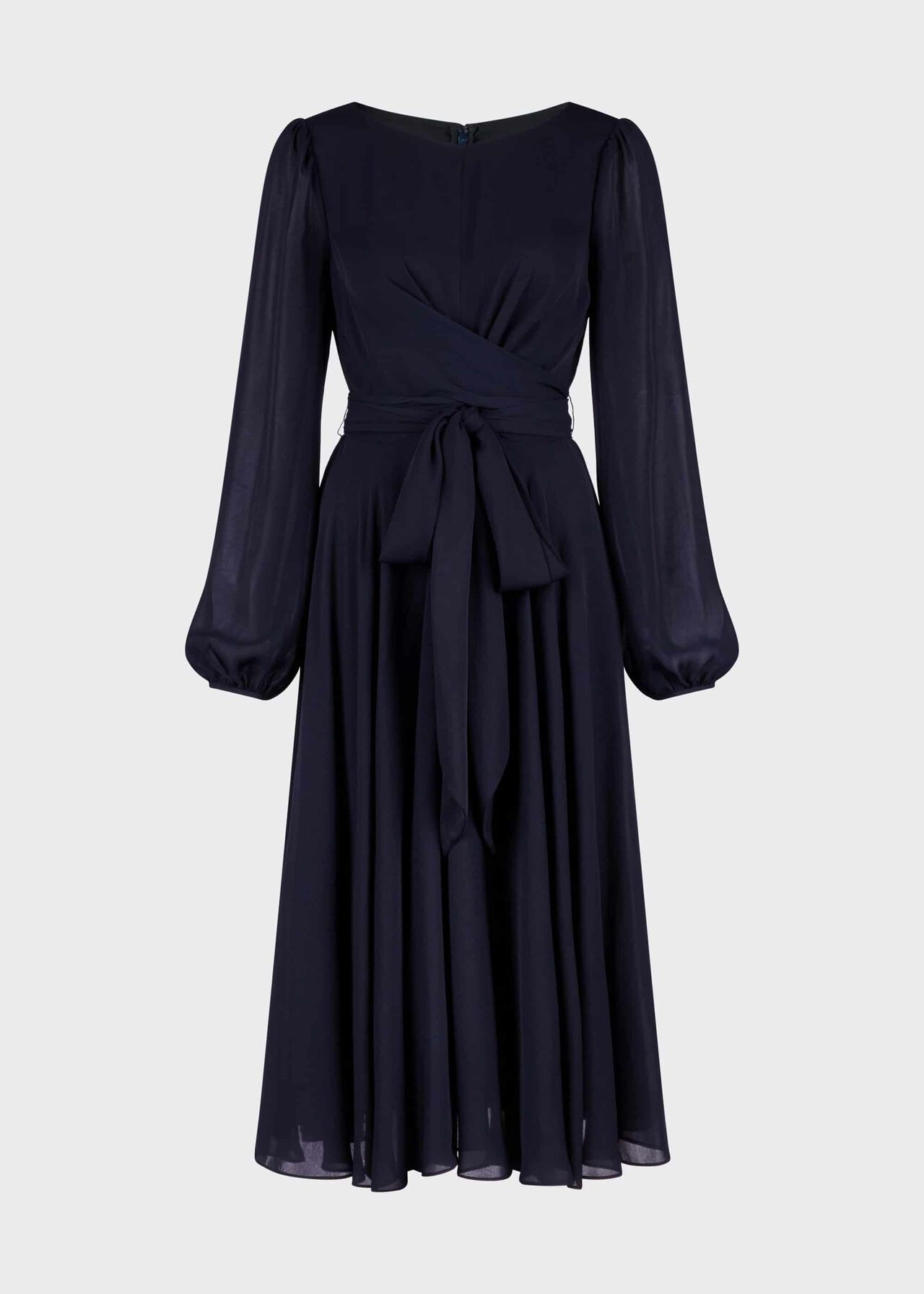 Sadie Fit And Flare Dress Navy